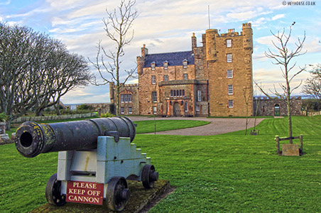 South view of Castle of Mey