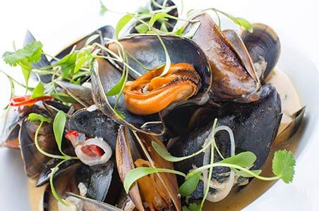 the captain's galley seafood restaurant | mey house